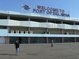 Pelabuhan yang ada di Sumatra