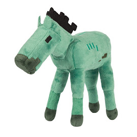 Minecraft Spin Master Zombie Horse Plush