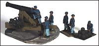 ACW34, 32 Pound Barbette Gun (USA&CSA)