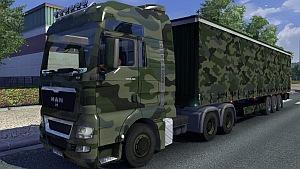 Army MAN truck