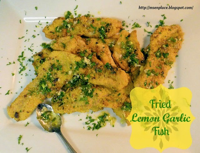 Fried Lemon Garlic Fish