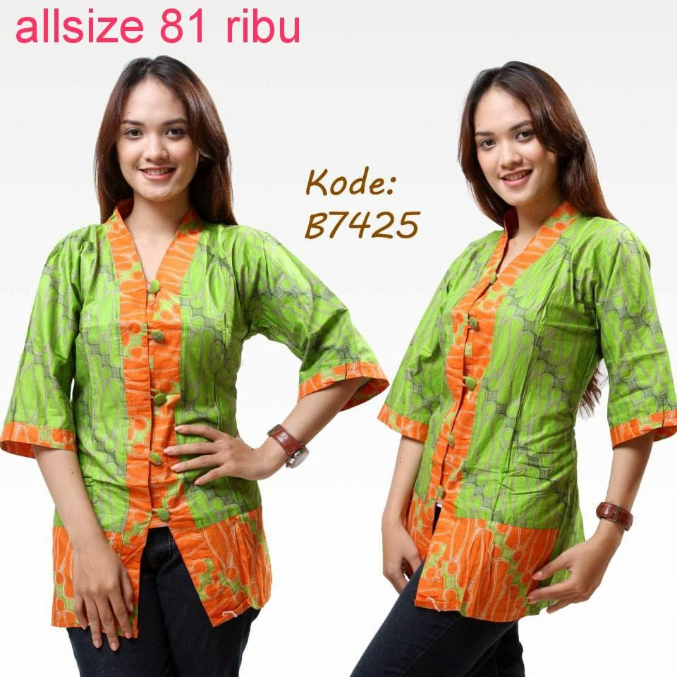 Model Baju Batik Modern Untuk Kerja: Model Baju Batik Modern Untuk Kerja