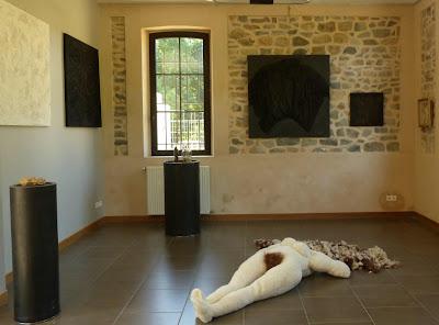 festival du lin 2017 Catherine Herbertz art textile contemporain sculpture textile art et féminisme