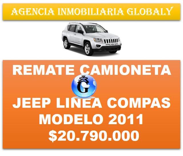 REMATE CAMIONETA JEEP COMPAS 2011