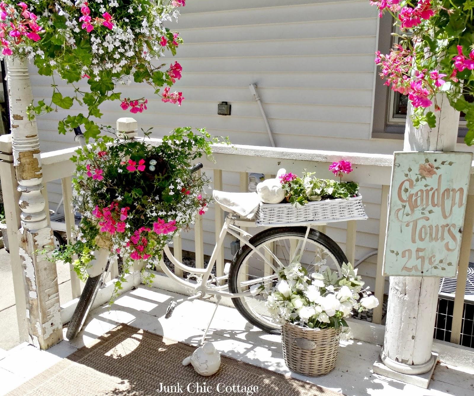 Decorer Un Banc De Jardin