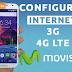 Configurar Internet 3G/4G LTE+MMS APN Movistar Perú 2018 en Android