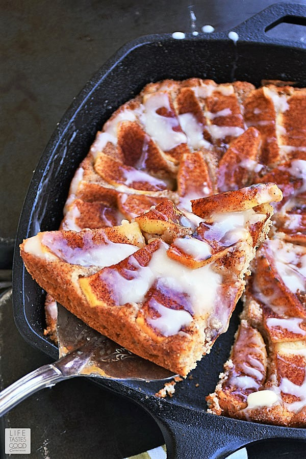 Skillet Apple Cake - Apple Cake Recipes with Fresh Apples