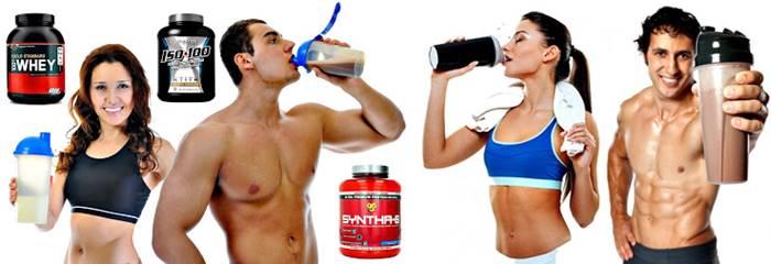 Tomar un batido de proteínas es bueno para hombres y mujeres de todas las edades