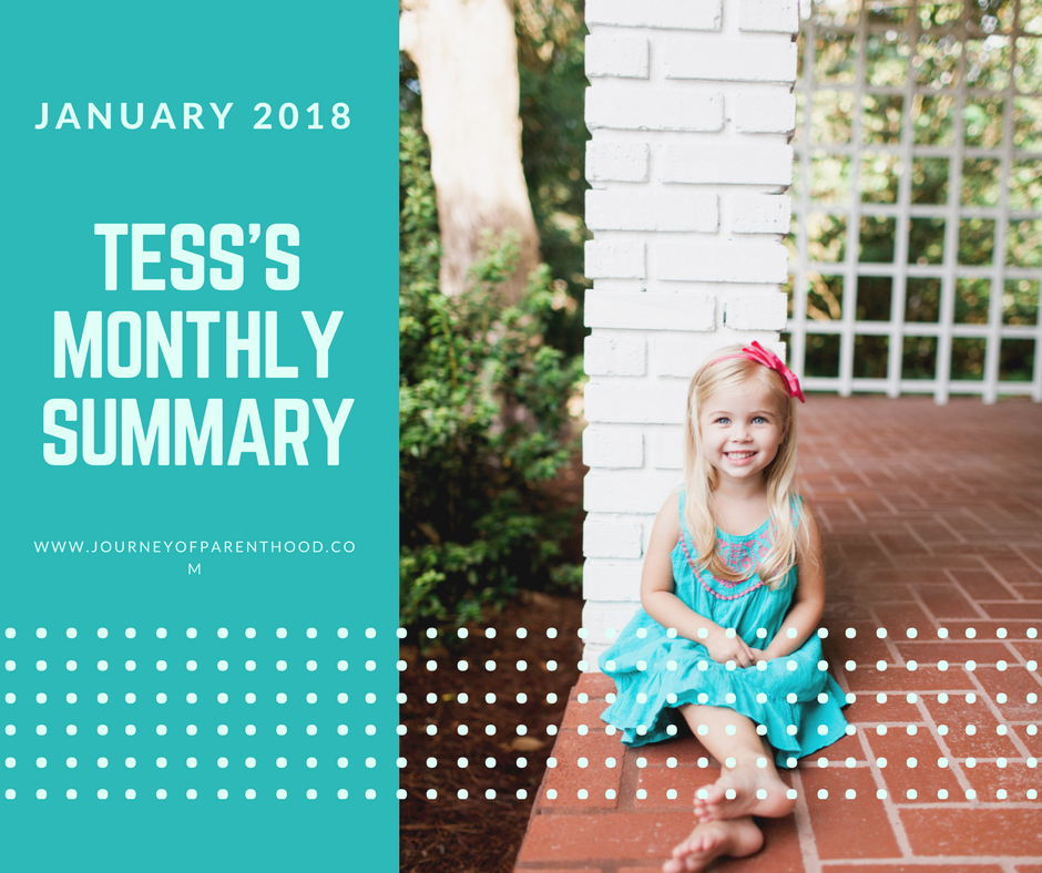 Tess Monthly Summary: January 2018