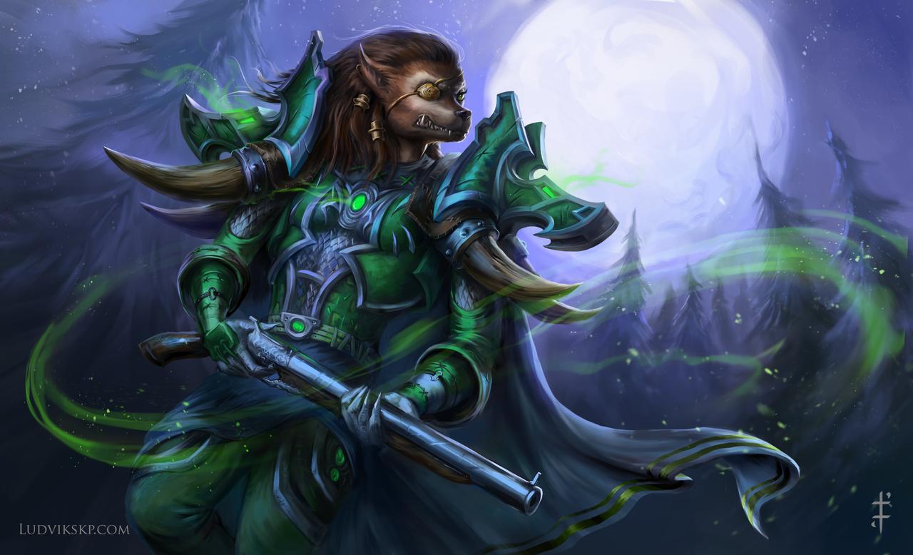 World of Warcraft: Worgen Hunter