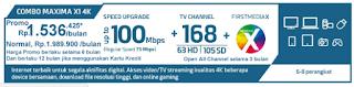 Paket First Media Combo Maxima HD
