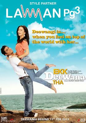 Ekk Deewana Tha 2012 Hindi DVDRip 480p 400mb