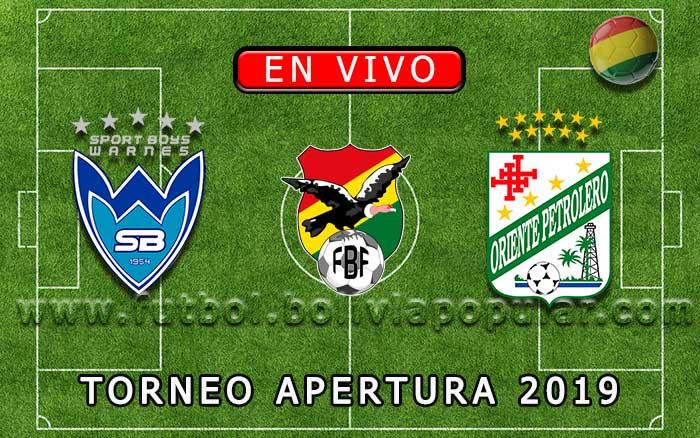 【En Vivo】Sport Boys vs. Oriente Petrolero - Torneo Apertura 2019