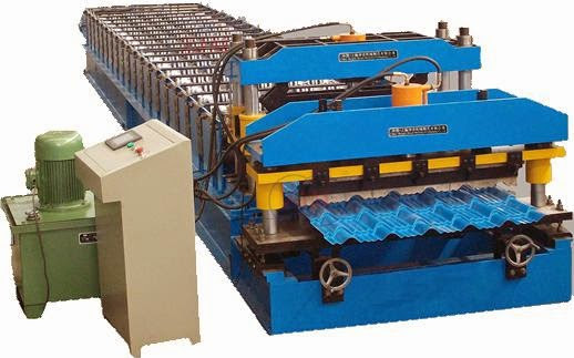 Glazed Tile Rolling Machine