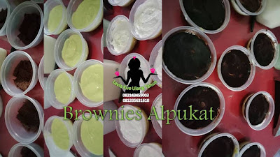 Browkat brownies alpukat Lumer