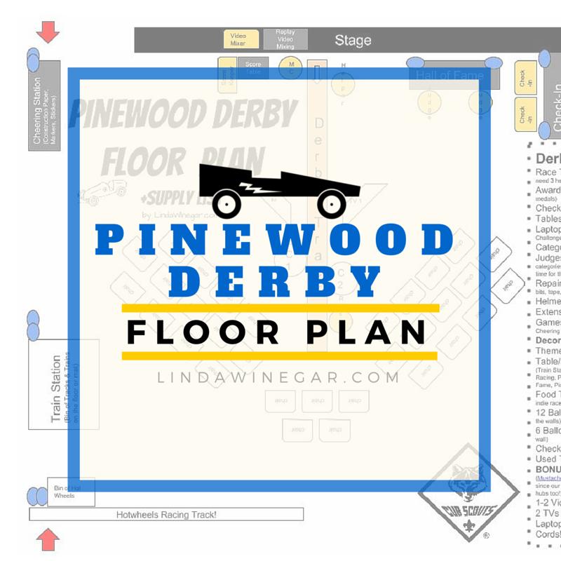 pinewood derby plan