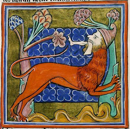 crikey, a manticore nicked me leg!