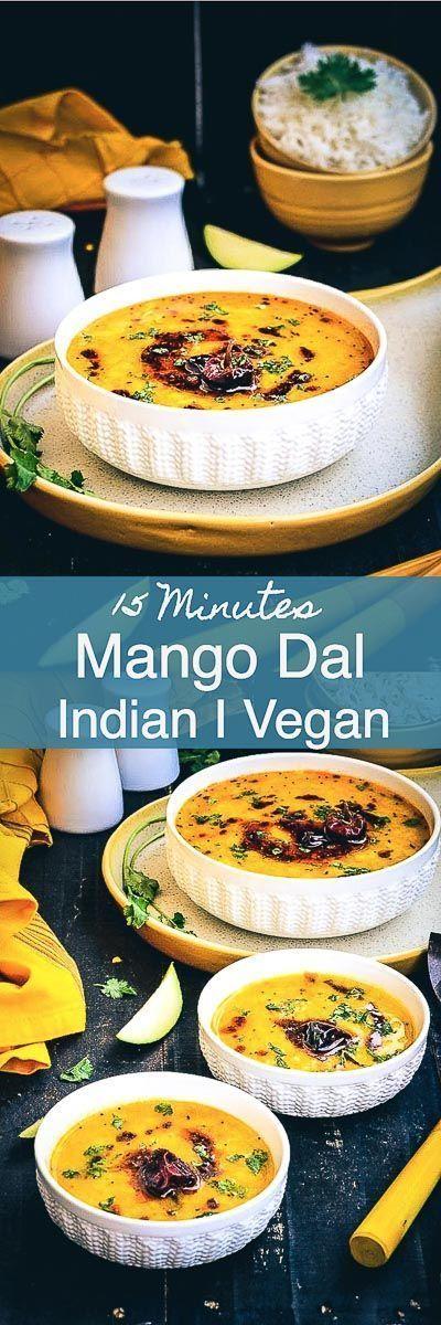 Kacche Aam Ki Dal / Yellow Lentils With Raw Mango