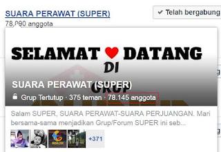 Grup Facebook Super
