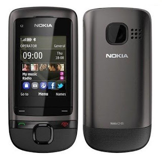 Nokia C2-05 with USB driver