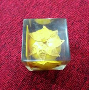 Azimat Minyak Apel Jin Kuning Langka-minyak bertuah