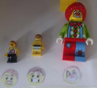 lego minifigs ronald mcdonald