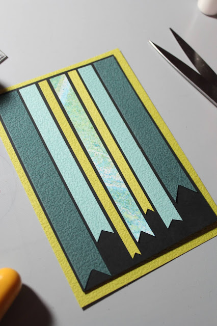 Banner Card #clubscrap #banners #diecuts