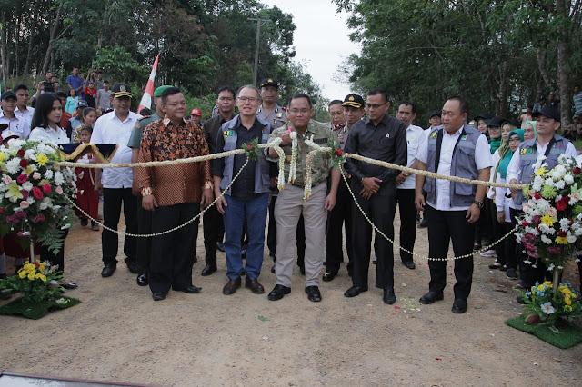 Bupati Muba Tuntaskan Pembangunan Jalan Sepanjang 59,95 Kilometer di Jirak Jaya