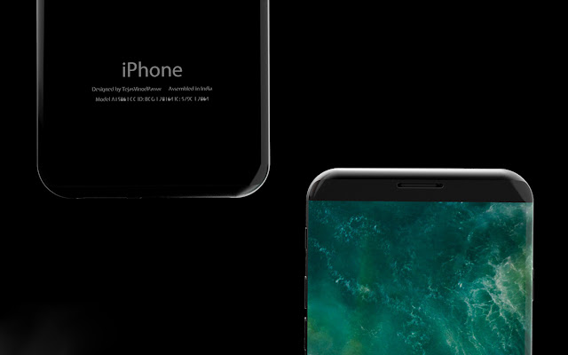 iPhone X || 16 MP Camera || OLED Curved Display || Concept