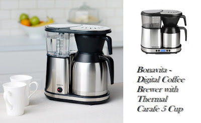 Bonavita - Digital Coffee Brewer with Thermal Carafe 5 Cup
