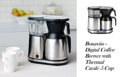 Bonavita - Digital Coffee Brewer with Thermal Carafe 5 Cup