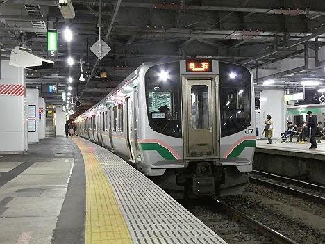 東北本線 白石行き2 E721系
