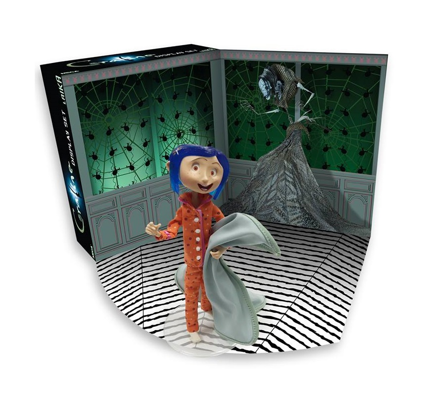 The Blot Says   : SDCC 2017 Exclusive Coraline Bendy Doll