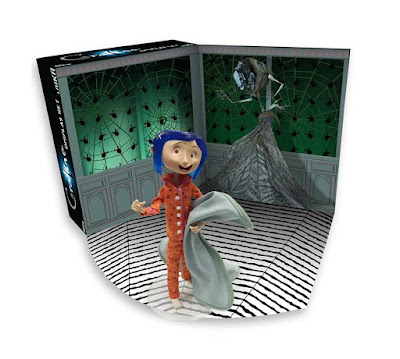 San Diego Comic-Con 2017 Exclusive Coraline Bendy Doll Display Set by NECA