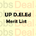 UP D.El.Ed Merit List 2018 – UP D.El.Ed Cut Off List (District Wise)