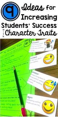 9 lesson activities for character traits and describing characters