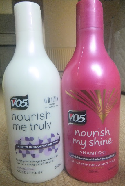 VO5 Hair Care, VO5 Nourish My Shine, Damaged Hair Products