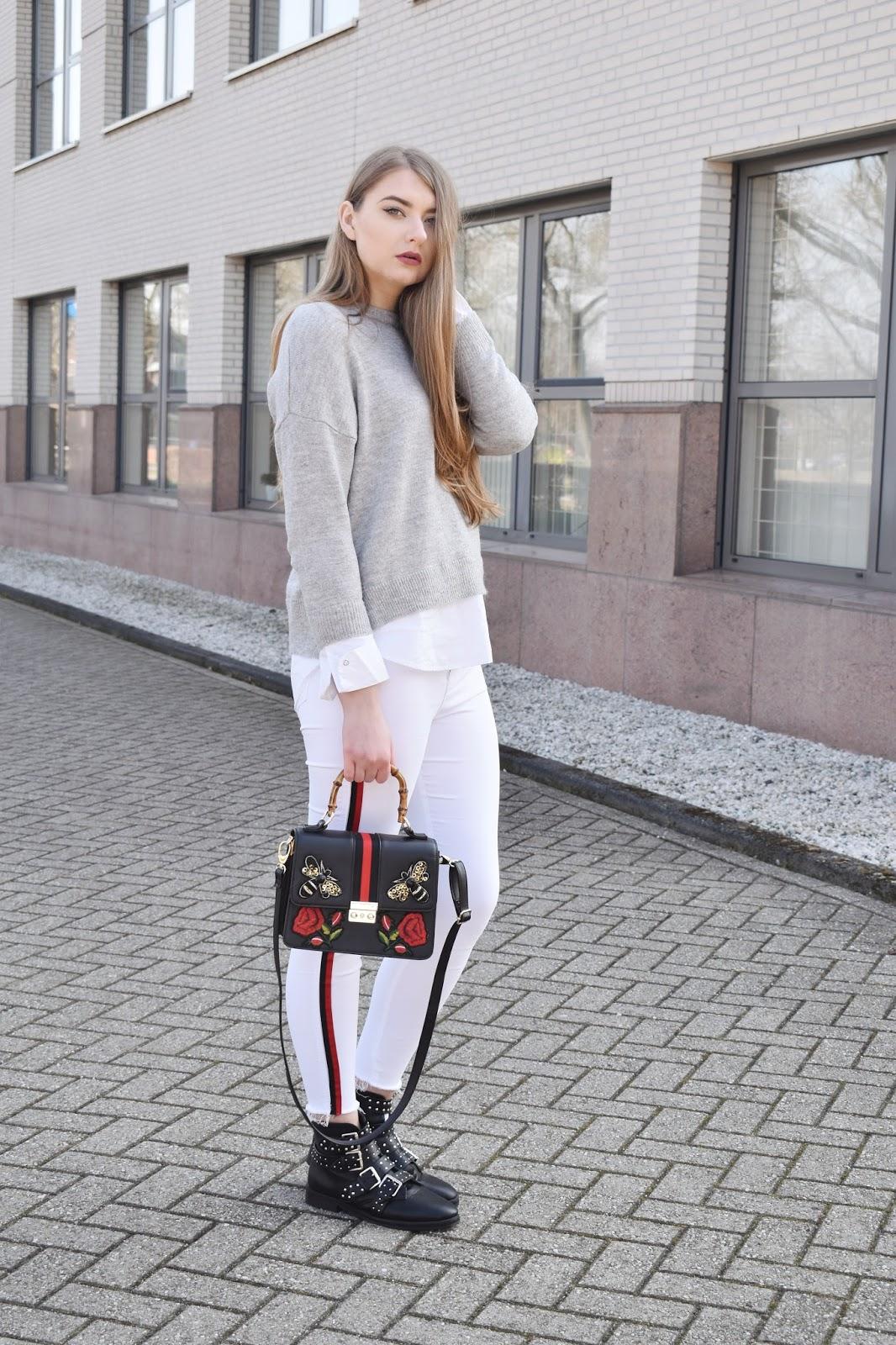 sposób na białe spodnie