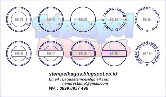 Gambar Stempel Bundar