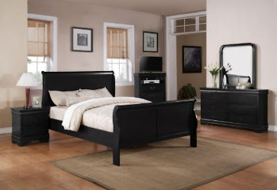 Make a More Dramatic Impression with Black Bedroom Furniture