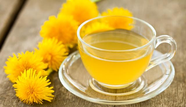 Dandelion tea as a medicine