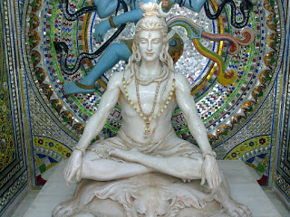 STATUE OF LORD SHIVA IN PAWAN DHAM TEMPLE,HARIDWAR VISIT