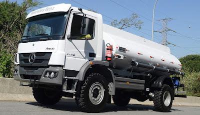 Mercedes-Benz aumenta exportações ao Oriente Médio com 40 caminhões semipesados Atego
