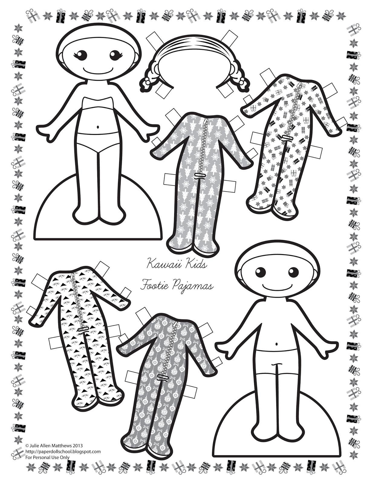 Paper Doll School Kawaii Kids 10