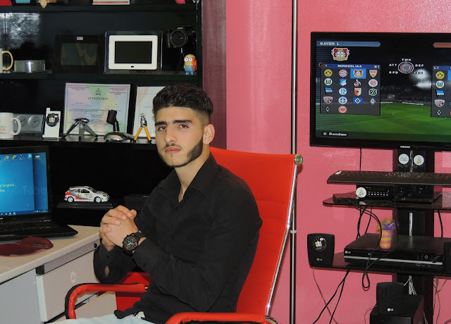 محمد سرغيني صاحب مدونة شبكة اليوتيوب في حاجتكم