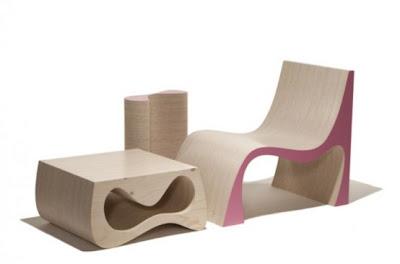 Mueble de madera para ahorrar espacio