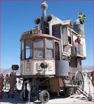 Mobil Rumah - Mobil Aneh