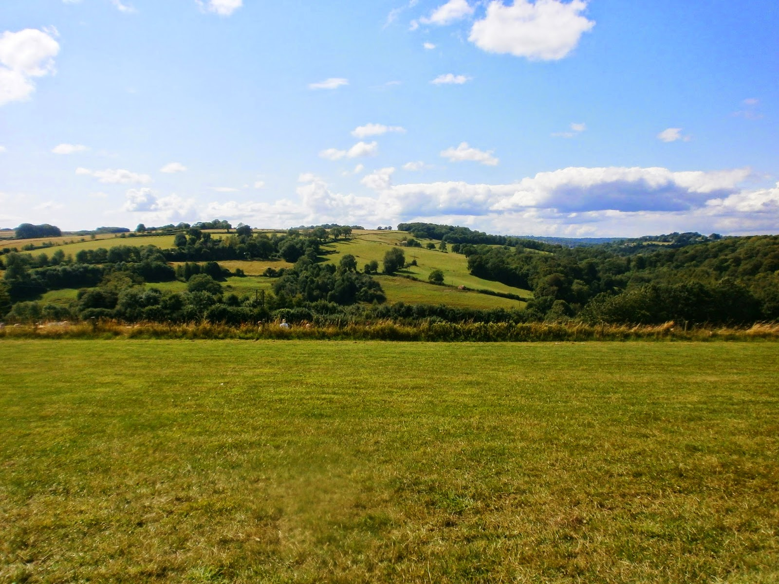 Countryside at Gatcombe Festival of Eventing