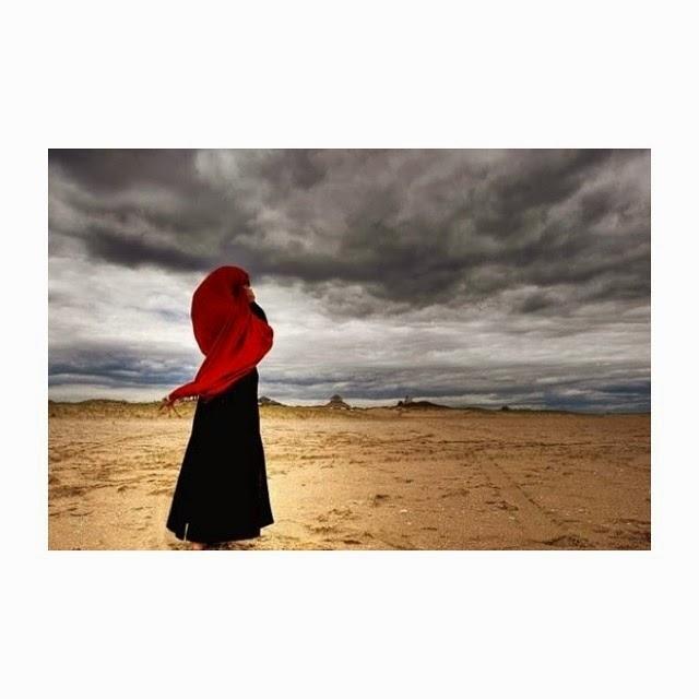 foto muslimah berhijab syari
