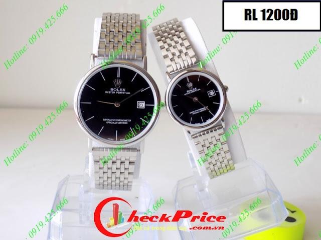 Đồng hồ đeo tay Rolex 1200Đ